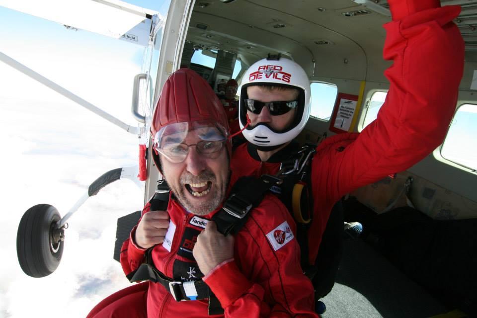 David's Parachute Jump September 2014