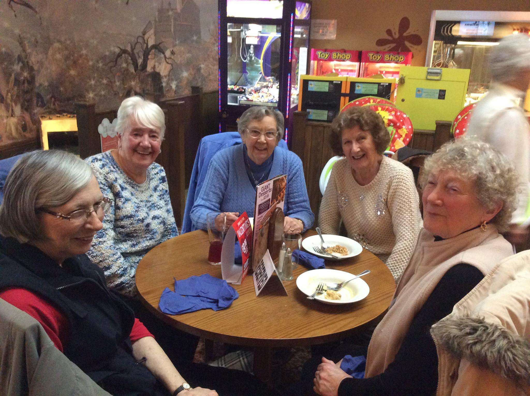 Thursday Social Club Meal February 2015